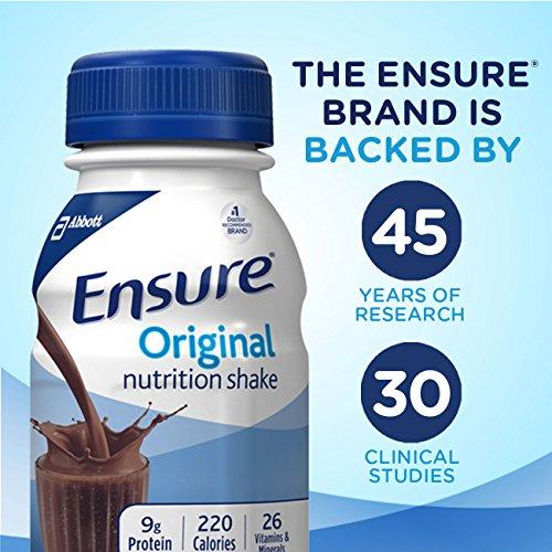 Ensure Original Nutrition Shake Bottles - Rich Dark Chocolate - 8 oz - 24 pk