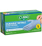 Product review for Curad Powder-Free Nitrile, Large, 200 gloves
