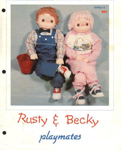 - Rusty & Becky (Playmates WPSO10)