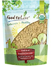 Organic Mesquite Powder by Food to Live (Non-GMO, Kosher, Bulk) — 2 Pounds