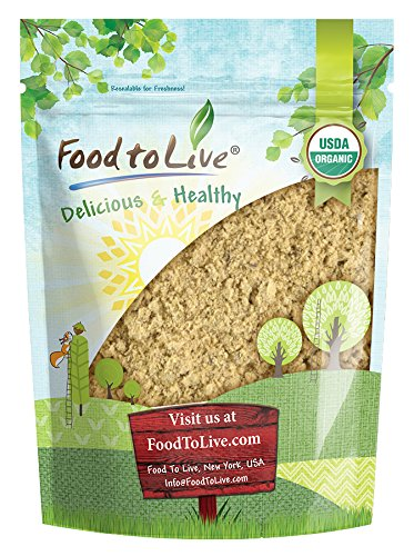 Food to Live Certified Organic Mesquite Powder (Non-GMO, Kosher, Bulk) (2 Pounds)