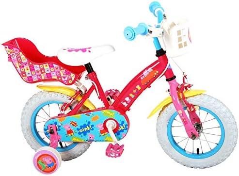 Peppa Pig - Bicicleta para niña con Licencia, Rosa, 12