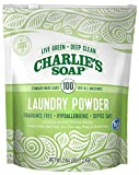 Charlie's Soap – Fragrance Free Powdered Laundry Detergent – 100...
