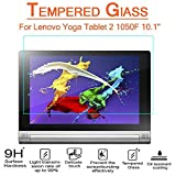Lenovo Yoga Tablet 2 10.1 inch Glass Screen Protector,(1050F) AnoKe[Lifetime Warranty](0.3mm 9H) Tempered Glass Screen Protector Film Shield For Lenovo Yoga Tablet 2 10.1 (1050F) Glass