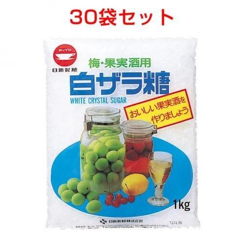 White Zara sugar (for plum fruit liquor) (1kg) 30 bags set by Cup mark Market