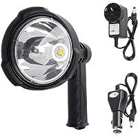 LIGHTFOX 25W CREE Handheld Spot Light Rechargeable LED Spotlight Hunting Shooting 12V 3 Years Warranty