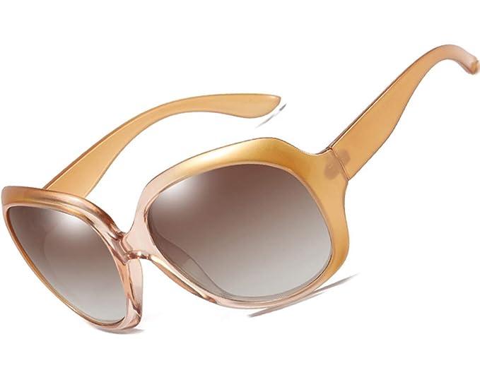 6ec95a4b68 ATTCL Mujer vintage Oversized Gafas De Sol Polarizado Uv400 Protección 3113  candy: Amazon.es: Ropa y accesorios