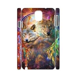 C-EUR Diy Case Wolf Dream Catcher,customized Hard Plastic case For samsung galaxy note 3 N9000