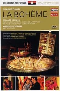 Giacomo Puccini - La Bohème / Villazon, Voulgaridou, de la Merced, Marquardt, Tézier, Wiener Symphoniker, Schilmer - Jones & McDonald (Bregenzer Festspiele)
