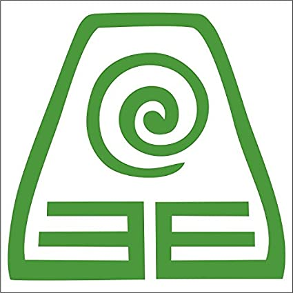 Amazon Earthbender Decal 4 Green Avatar The Last Airbender