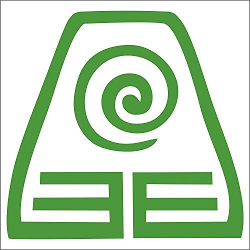 Earthbender Decal - 4 Green - Avatar the Last Airbender - Toph