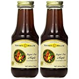 xylitol chocolate syrup - Nature's Hollow, Sugar-Free Maple Flavored Syrup 2-Pack, 10 Ounces Each