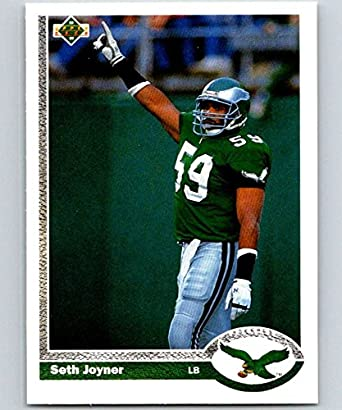 Amazon.com: Football NFL 1991 Upper Deck #284 Seth Joyner #284 NM ...