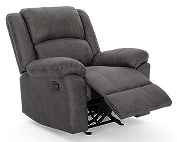 Groovy Amazon Com Noble House Kearney Glider Recliner In Slate And Short Links Chair Design For Home Short Linksinfo