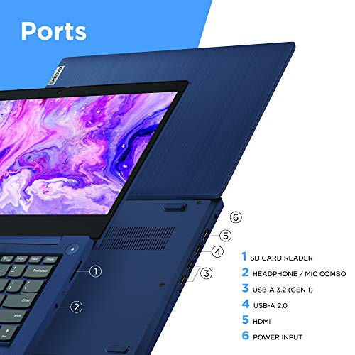 Lenovo-IdeaPad-3-14-Laptop-140-FHD-1920-x-1080-Display-AMD-Ryzen-5-3500U-Processor-8GB-DDR4-RAM-256GB-SSD-AMD-Radeon-Vega-8-Graphics-Narrow-Bezel-Windows-10-81W0003QUS-Abyss-Blue