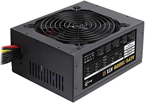 Aerocool ACPS – Fuente para PC1800W, ATX, eficiencia 90+, 12 V ...