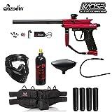 Best Paintball Guns - Azodin Kaos 2 Silver Paintball Gun Package Review
