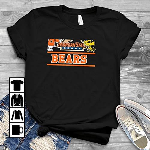 Snoopy Morgan State Bears T Shirt Long Sleeve Sweatshirt Hoodie Youth