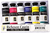 Jack Richeson 37-Ml Artist Casein Colors, Set of 6