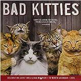 Bad Kitties 2019 Wall Calendar