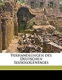 Verhandlungen des Deutschen Soziologentages, , 117717605X