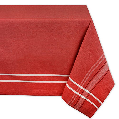 DII Machine Washable Everyday Tablecloth