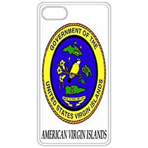 American Virgin Islands - Coat Of Arms Flag Emblem White Apple Iphone 5 Cell Phone Case - Cover wangjiang maoyi