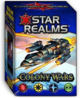 Star Realms - Colony Wars - Jeu De Deckbuilding + Extension: Amazon.es: Juguetes y juegos