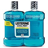 Listerine Cool Mint Antiseptic Mouthwash, 1.5l, 2-pk by