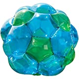 Blue and Green GBOP Great Big Outdoor Play Inflatable Climb Inside Bubble Soccer Zorb Ball Heavy Duty PVC Vinyl 52'' Diam 150 LB Max Weight