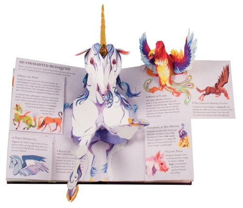 Encyclopedia Mythologica: Fairies and Magical Creatures Pop-Up by Candlewick Press (Image #4)