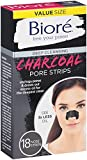 Biore Deep Cleansing Pore Charcoal Strips, 18 Count