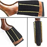 Ultimate Arms Gear Tactical Stealth Black 72 Round Rifle Ammo Shot Shell Cartridge Hunting Stock Buttstock Slip Over Carrier Holder Fits .22 AR15 AR-15 Smith & Wesson M&P15-22 M&P 15-22 Ambidextrous Use for Both Righty and Lefty Shooters Universal Bolt Lever Pump Action Sniper Rimfire Hunting Rifle