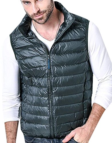Coat Vest Winter EKU Warm Down Packable 3XL ArmyGreen Men's Jacket US Puffer x88wUAZY