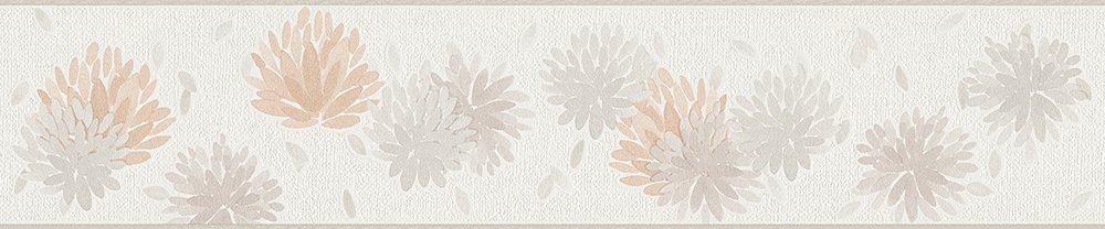 Schöner Wohnen Bordüre 5, 00 m x 0, 13 m beige creme weiß 304093 Schöner Wohnen