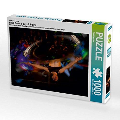 Ein Motiv aus Dem Kalender Break Dance B-Boys & B-Girls 1000 Teile Puzzle Quer