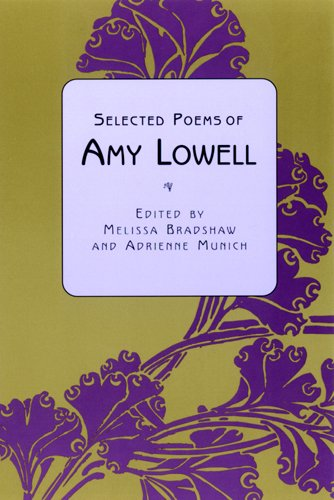 the letter amy lowell analysis