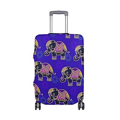 1cbf650476ab 85%OFF DEYYA African Elephant Spandex Travel Luggage Cover Baggage ...