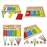 develop math thinking 2nd - Hot Wooden Toy Gift Baby Kid Children Intellectual Developmental Educational#3