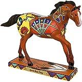 "Enesco Trail of Painted Ponies ""Spirit Bear"" Stone Resin Horse Figurine, 6.4"""