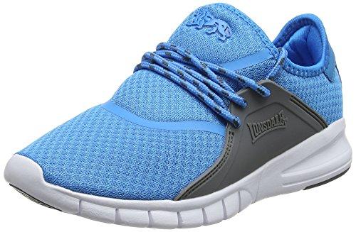 Lonsdale Sirius, Zapatillas Deportivas para Interior para Mujer Azul (Blue/Grey)