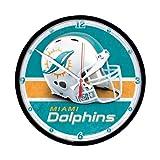 Wincraft Miami Dolphins Round Clock