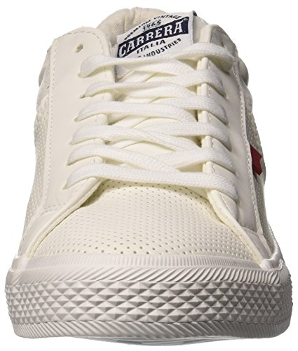 White Uomo EU 43 Lth Bianco Platinum navy Sneaker Carrera qtTSxXw1x