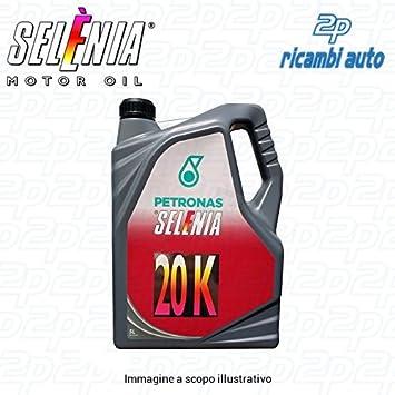 Selenia - Aceite lubricante para motor Petronas 10W-40 20K, 5 litros: Amazon.es: Coche y moto