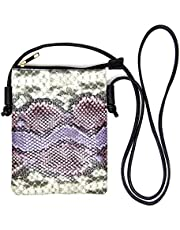 by you Women Fashion Animal Print Small Crossbody Cellphone Purse Shoulder Bag Adjustable Strap