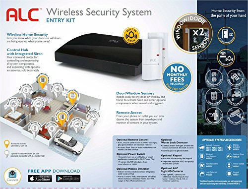 Alc Ahs612 Connect Home Wireless Security System With Hub