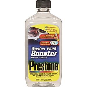 Prestone AS240 Windshield Washer Fluid Booster De-Icer Additive - 15.5 oz.