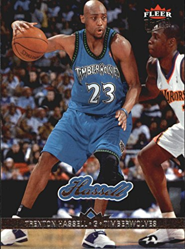 2006-07 Fleer Ultra Basketball #95 Trenton Hassell from Ultra