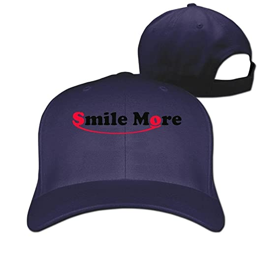 285bf82ae3a Image Unavailable. Image not available for. Color  Adult Baseball Caps GA  Roman Atwood Smile More Logo Winter Cotton Ash Hat