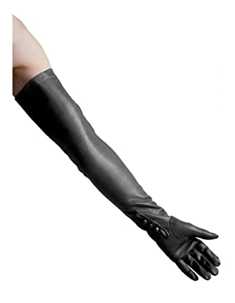 b92fe3451b98 Dents Long Leather Dress Opera Gloves - Ladies Womens (Sizes 6.5 ...